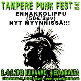 Tampere Punk Fest 2 days advance ticket